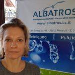 Monika Thomaser, direttrice coop sociale Albatros