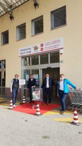 Jetzt neu: Temporary Social Shop von Coop: mit zuverlässiger Qualitäts- und Preisgarantie.