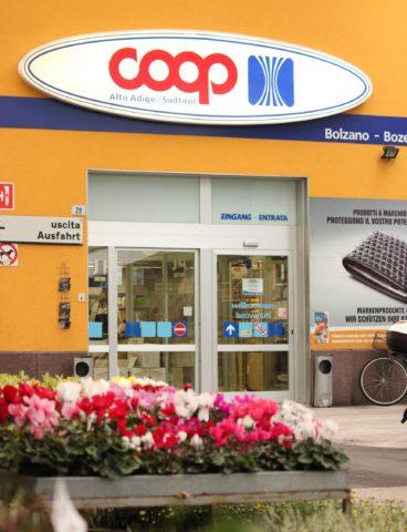 il supermercato Koncoop di Bolzano