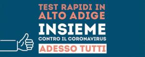 Anche Coopbund per i Test rapidi in Alto Adige