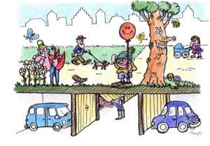 Salvi i parcheggi interrati per residenti